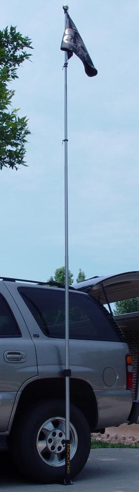 Boone Outdoor Extend A Pole Flag Pole 16 Feet Fg Boone