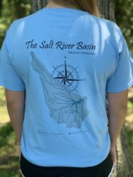 Boone Blue T-Shirt: Salt River Basin in Northeast Missouri
